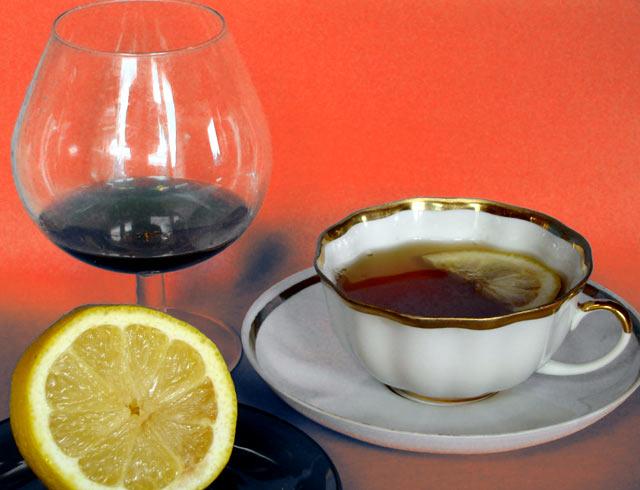 Чай с адвокатцем. Фото И. Сокольского